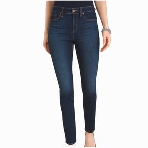 Chico's Dark Wash High Rise Jegging Jeans